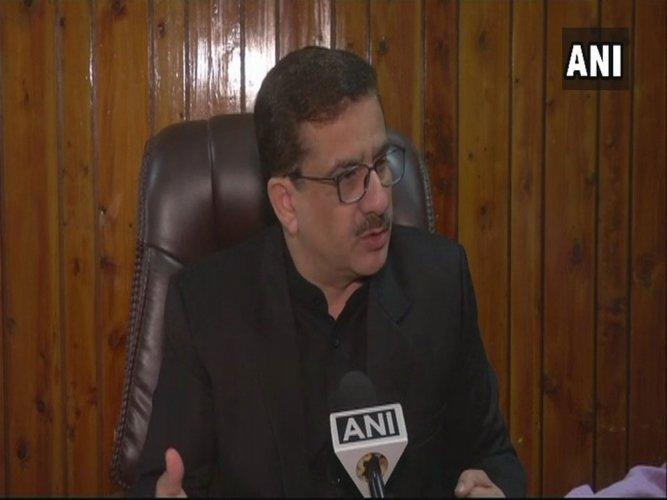 Shia Waqf Board chairman 'prepares' his grave