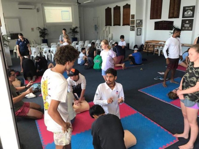 Puttur youth visit Australia for advanced life-saving training