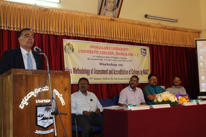 'NAAC panel setting challenges to maintain high standard of education in varsities'