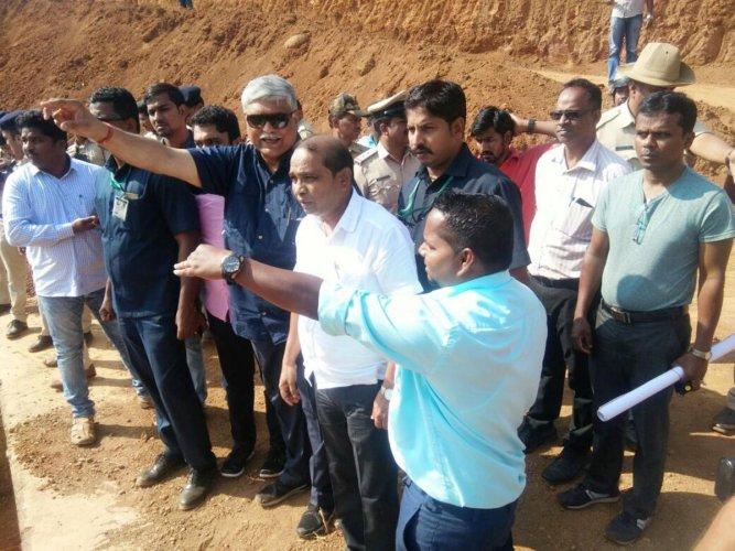 Mahadayi row: Goa minister visits Kalasa-Banduri project site