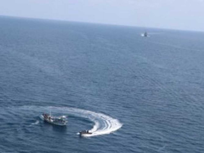Chopper crash: Search ops on to trace missing crew members