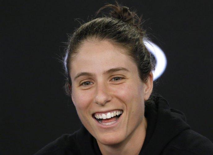Konta sees positive in open women's Grand Slam