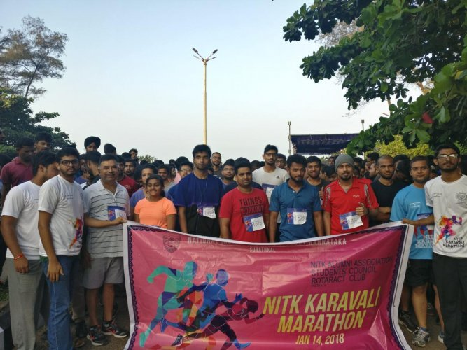 Good response for NITK Karavali Marathon