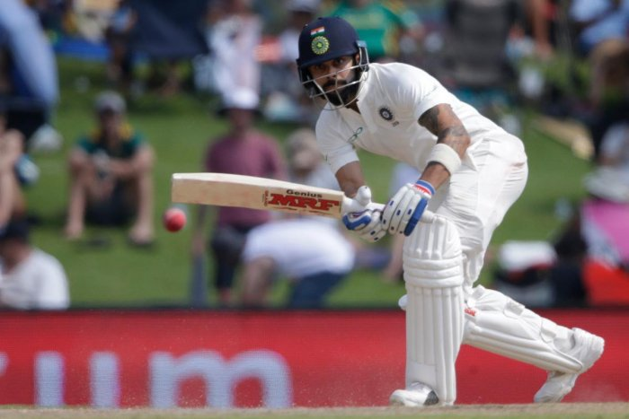 Kohli stands tall for India
