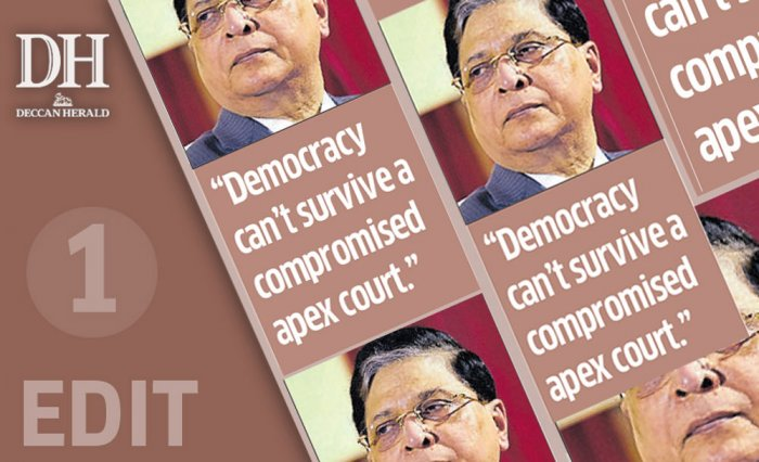 CJI, restore integrity, independence of SC