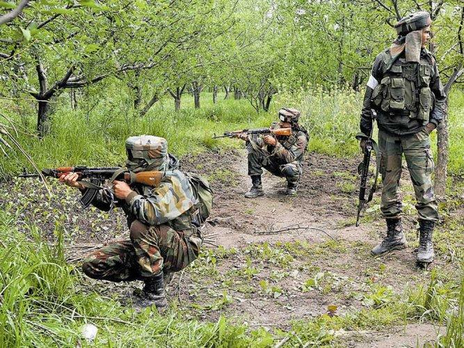 Infiltration bid foiled, 4 JeM militants killed