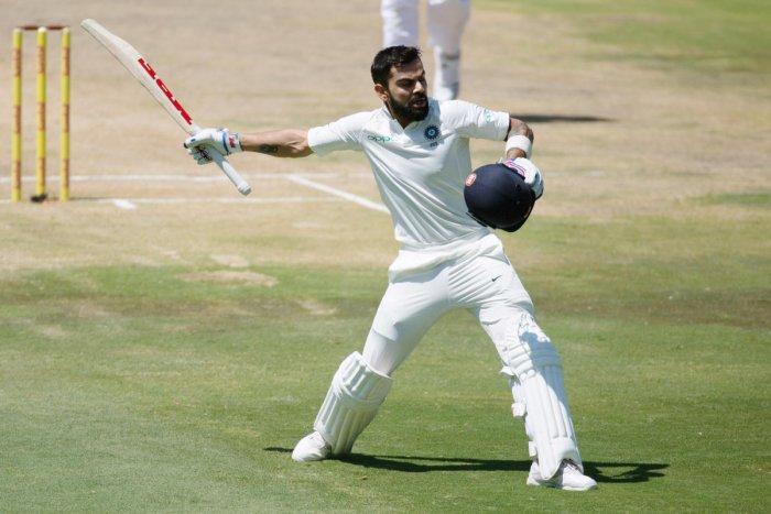 India concede lead after Kohli's gem