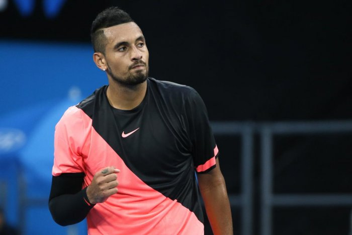 Kyrgios to help troubled youth