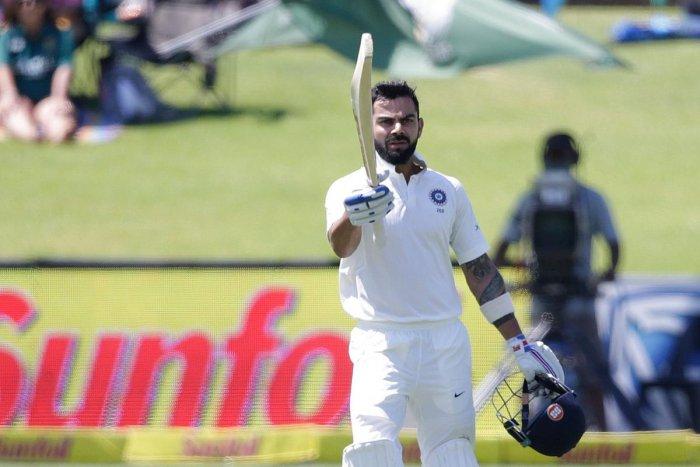 Kohli leads India's fight