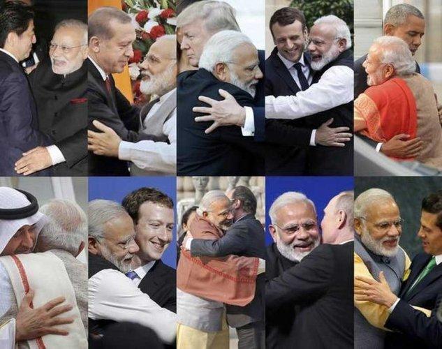 'Hugplomacy' only humour, no malafide intent: Congress