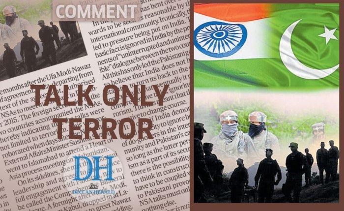 Talk only terror