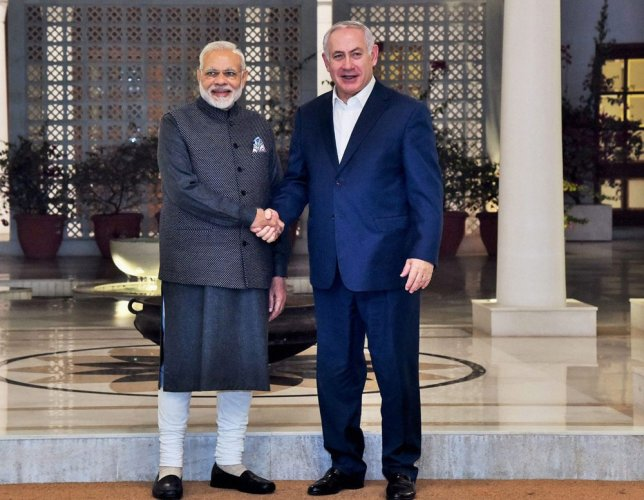 Modi, Netanyahu launch call for R&D under India-Israel innovation fund
