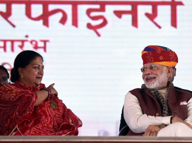 Drought and Congress travel hand-in-hand: PM Modi