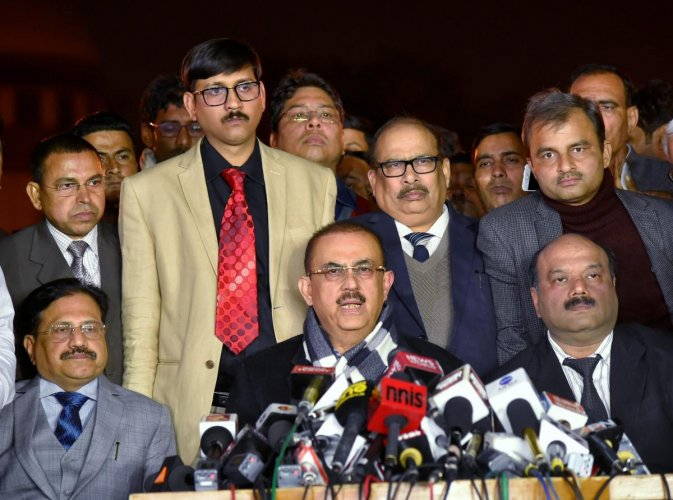 SC judges row has been resolved: Bar Council of India