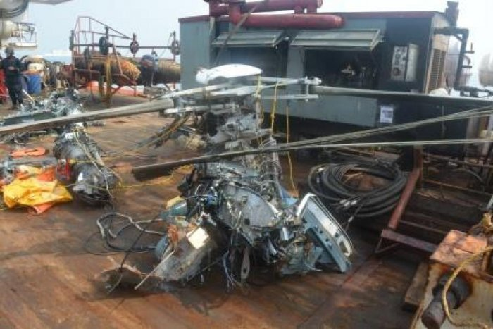 Chopper crash: Torso found suspected to be of pilot