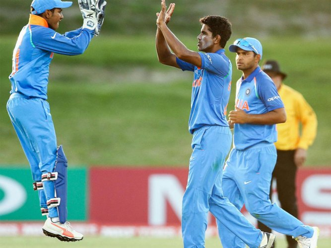 India maul PNG by 10 wickets to enter U-19 World Cup quarters