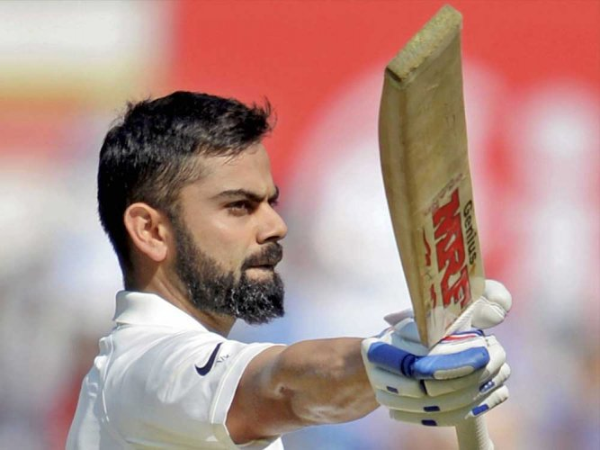 Kohli gets one demerit point for breach of ICC code