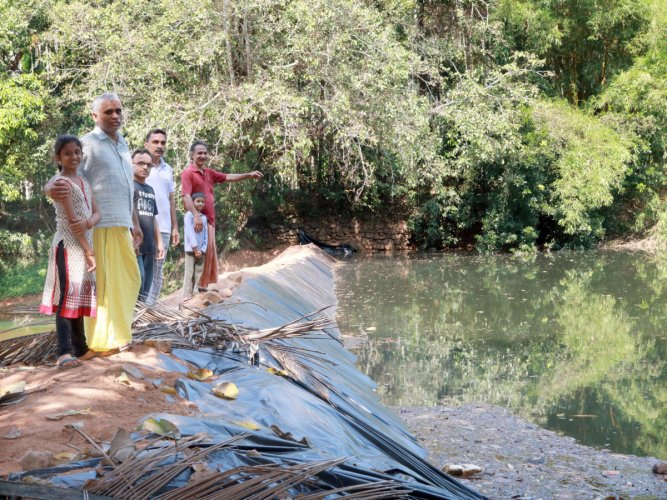 Farmers show way of securing water