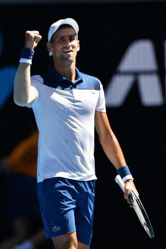 Djokovic makes dashing return; Federer shines