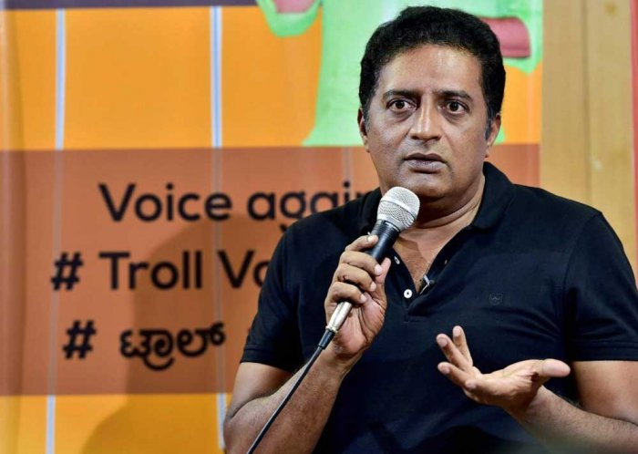 Will you cleanse every place I visit, Prakash Rai to BJP