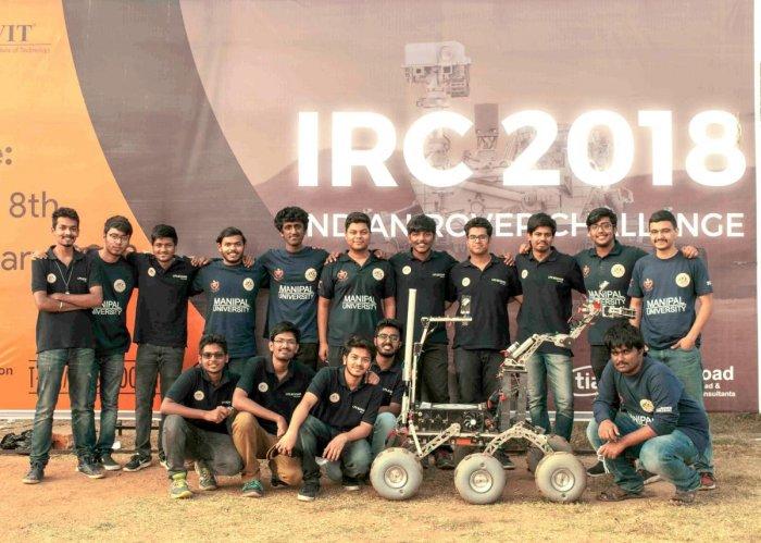 MIT Mars Rover team wins Indian Challenge
