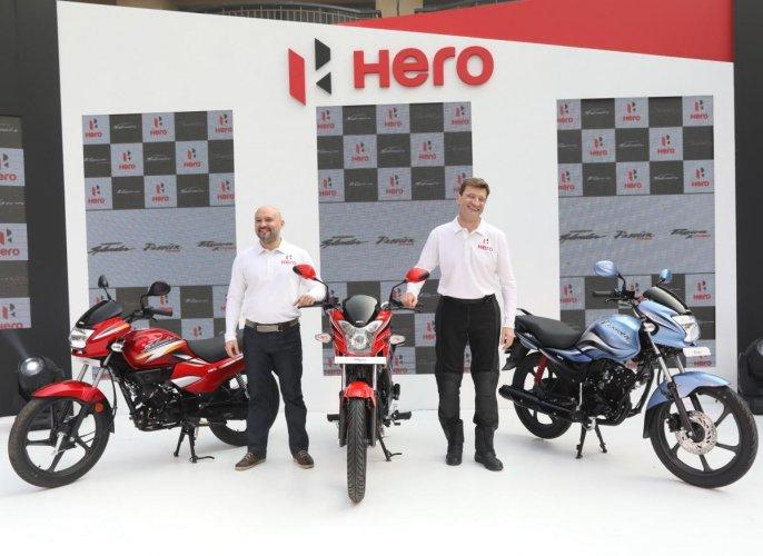 Hero's winning trio