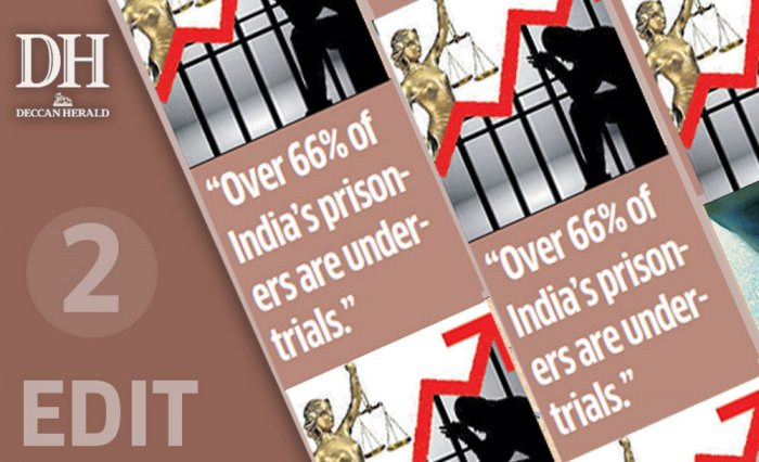 Rising number of undertrials shame