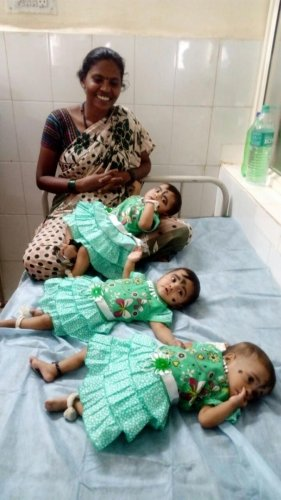 Karnataka triplets survive tough odds, inspire WHO campaign