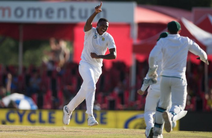 Lungi wraps it up for South Africa