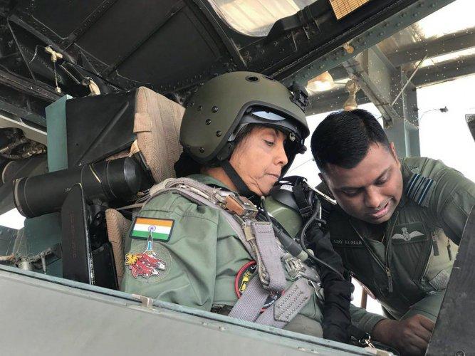 Nirmala Sitharaman undertakes sortie in Su-30, scripts history