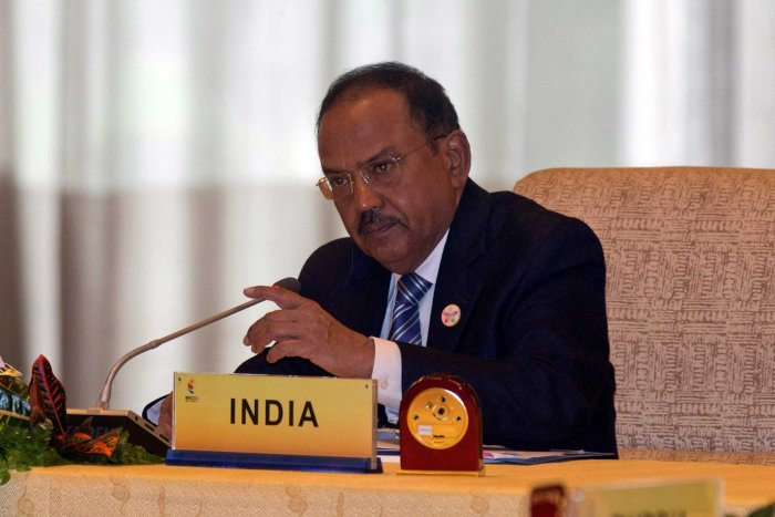 MHA: Doval not present during poll BJP meet