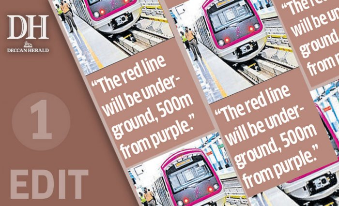 On MG Road, Metro will be a circus