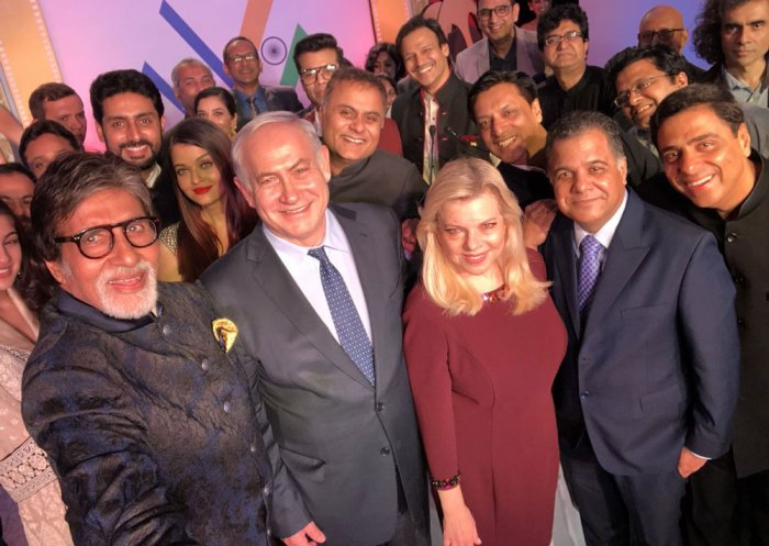 When Netanyahu took selfies with Bollywood