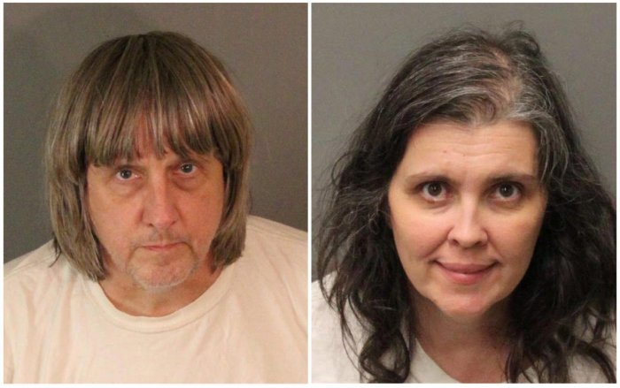 California couple charged with torture of own children