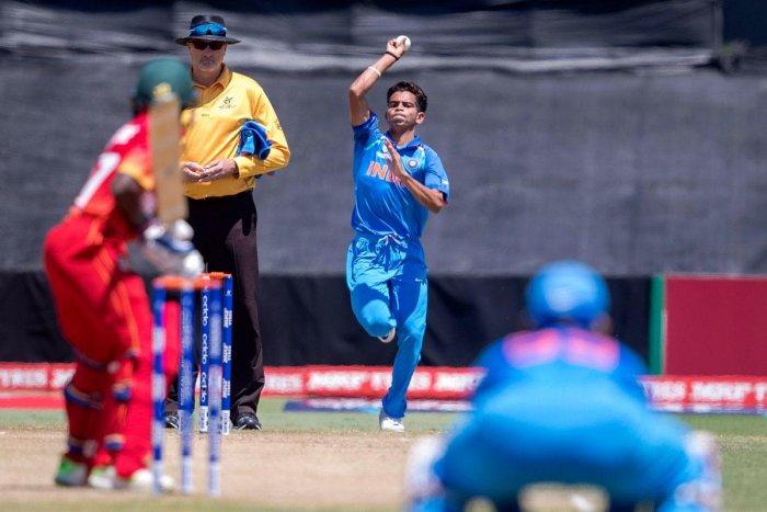 U-19 World Cup: India hammer Zimbabwe to top Group B