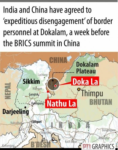 India downplays reports of Chinese build-up in Doklam