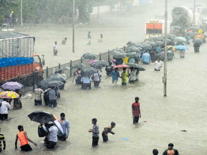 Floods top the natural disasters list