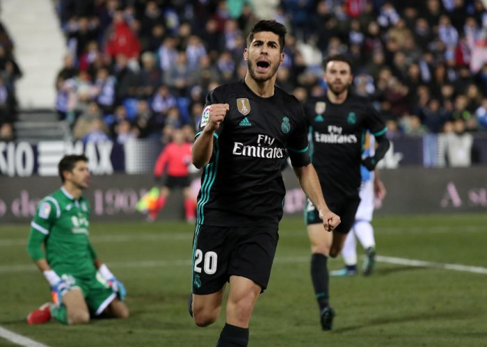 Asensio goal lifts Real