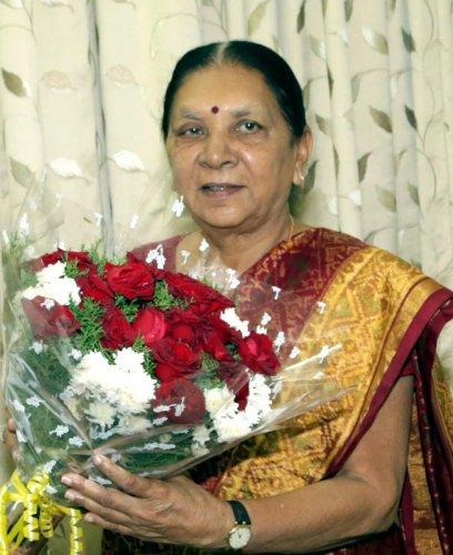 Anandiben set to become Madhya Pradesh governor