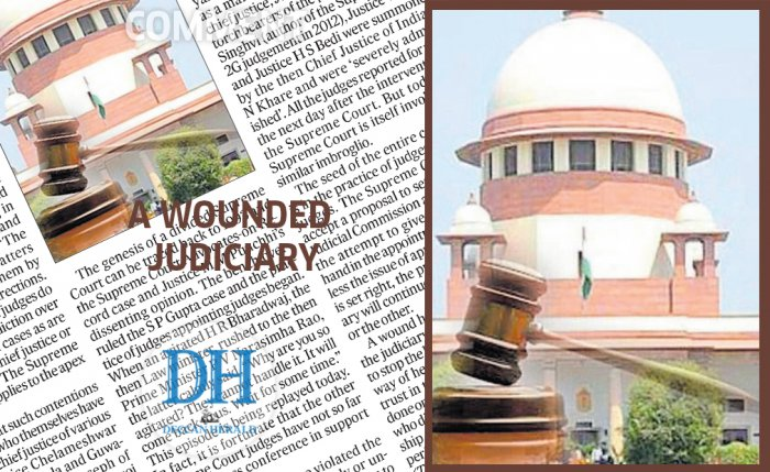 A wounded judiciary