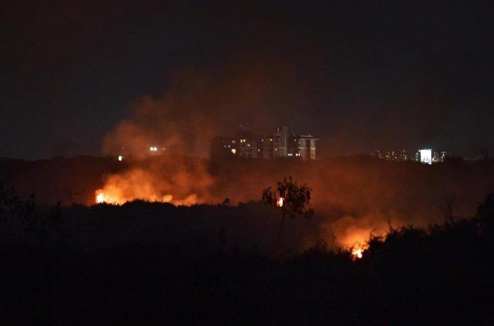 Bellandur Lake fire under control, says army