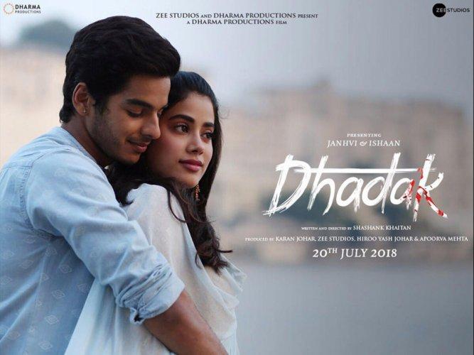 Jhanvi-Ishaan's 'Dhadak' to release in July