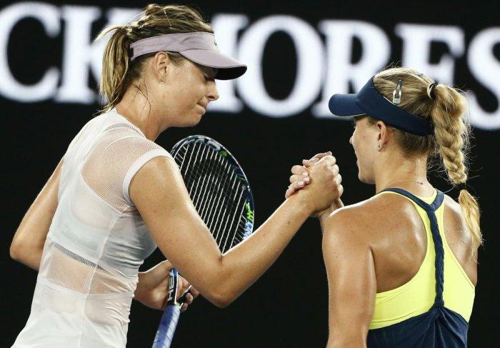 Australian Open: Kerber thrashes Sharapova to reach fourth round