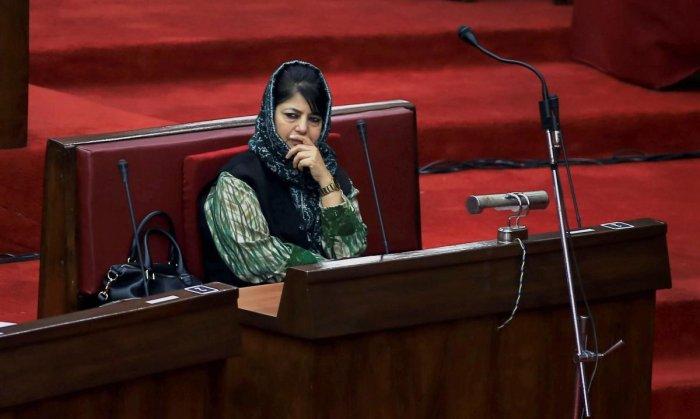 Don't turn Kashmir into battleground, Mehbooba appeals to India, Pak