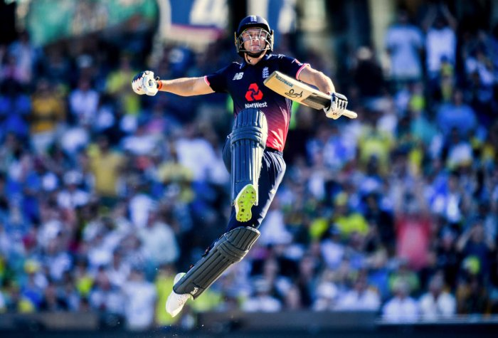 Buttler serves up England's series victory