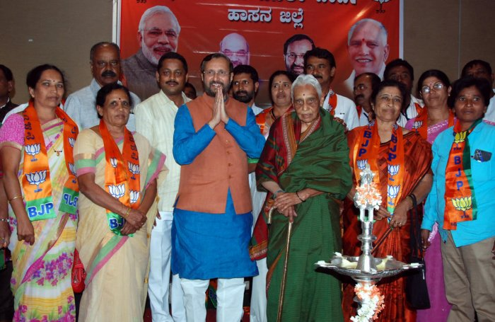 'BJP will wrest power from Cong'
