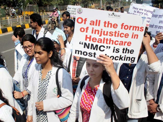 NMC Bill blueprint for privatisation of medical education, say doctors