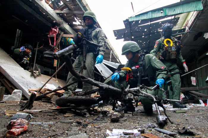 Explosion at pork stall in Thailand's market kills 3, wounds 22