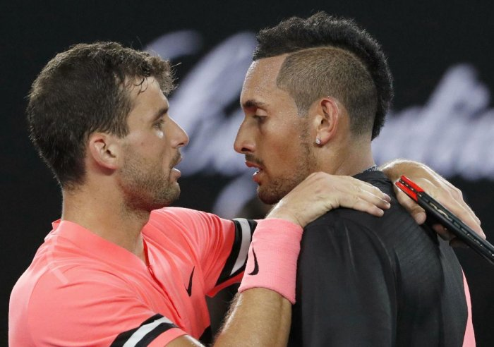 Kyrgios says he is in better 'head space' now