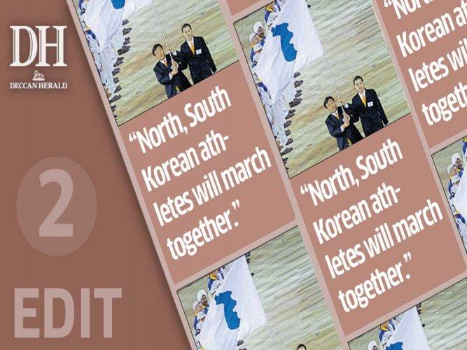 Korean peace calls for Olympic effort